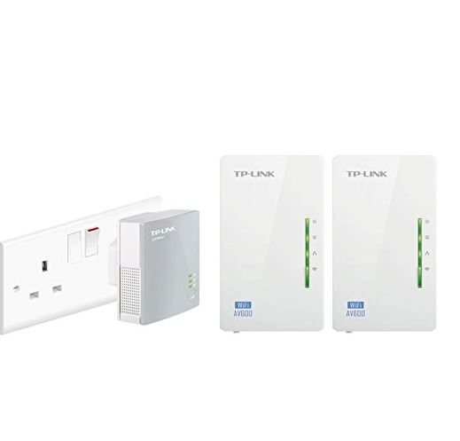 TP Link powerline wifi extender (3 pack)